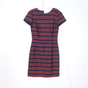 Brooks Brothers Maroon Striped Dress - 2